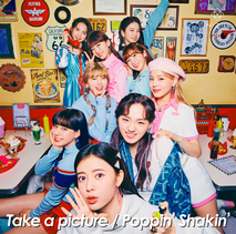 Take a picture/Poppin' Shakin'(通常盤初回仕様) CD