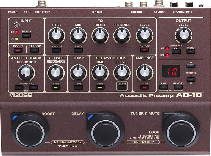 AD-10 / Acoustic Preamp