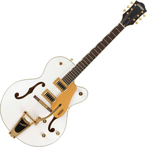 G5420TG-FSR Electromatic Hollow Body Single-Cut with Bigsby White